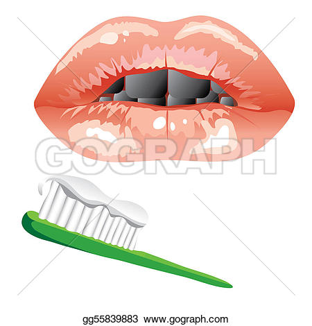 Toothbrush clipart mouth #8