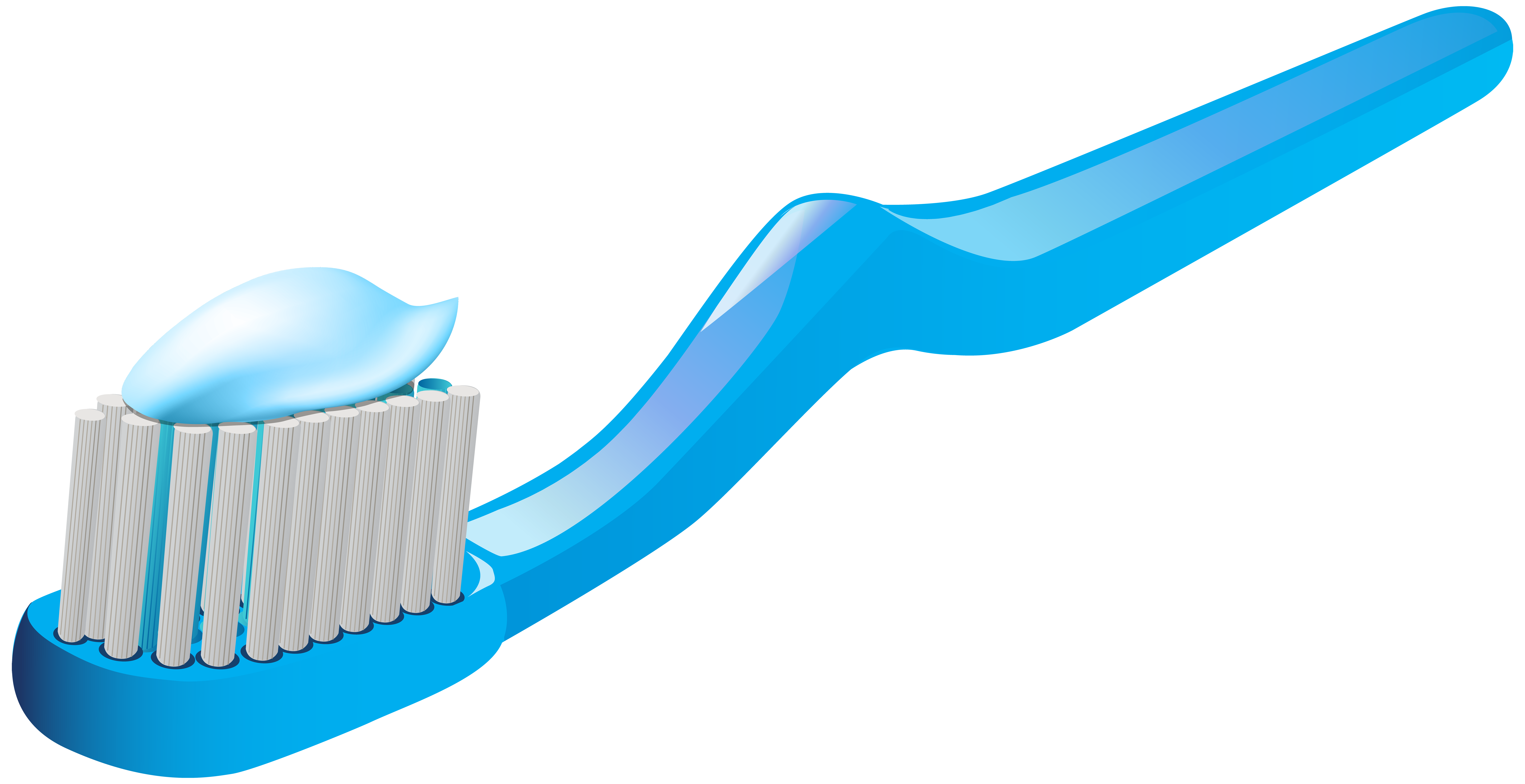 Toothbrush clipart simple #8