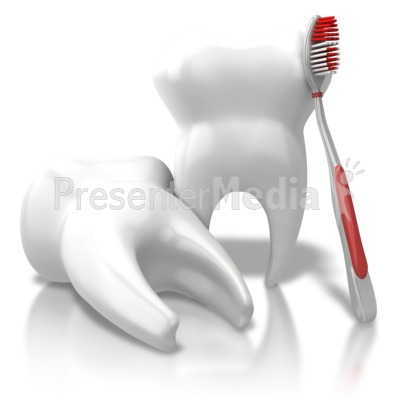 Toothbrush clipart single tooth #2