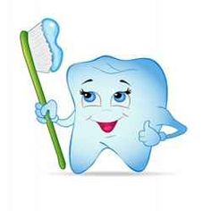 Toothbrush clipart single tooth #5