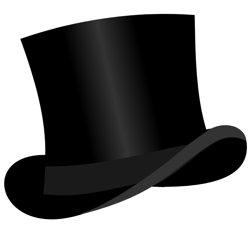 Top Hat clipart Art Hat Library Top Top