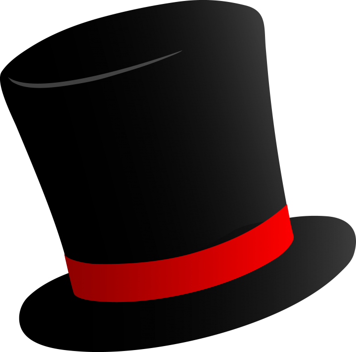 Top Hat clipart yellow Download hats hat animals #19091