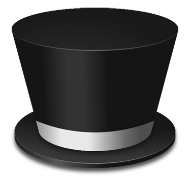 Drawn top hat To  Download your Clip