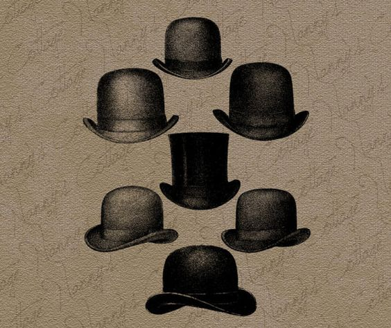 Top Hat clipart derby Pinterest Illustration Antique Hats Derby