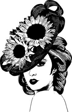 Top Hat clipart derby Womans and derby white ladies