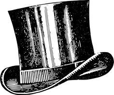 Top Hat clipart graphic Hat  art Top Top