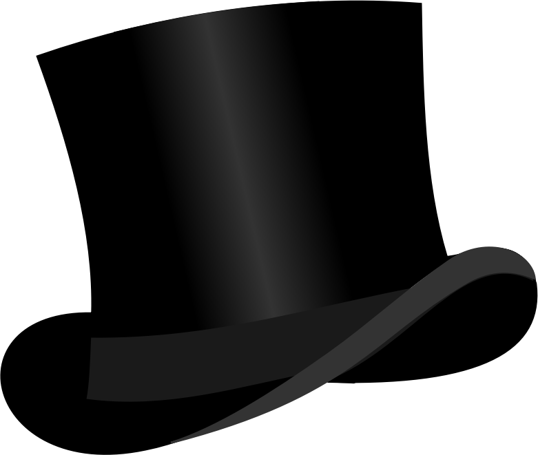Top Hat clipart graphic Clipart (PNG) Top hat IMAGE