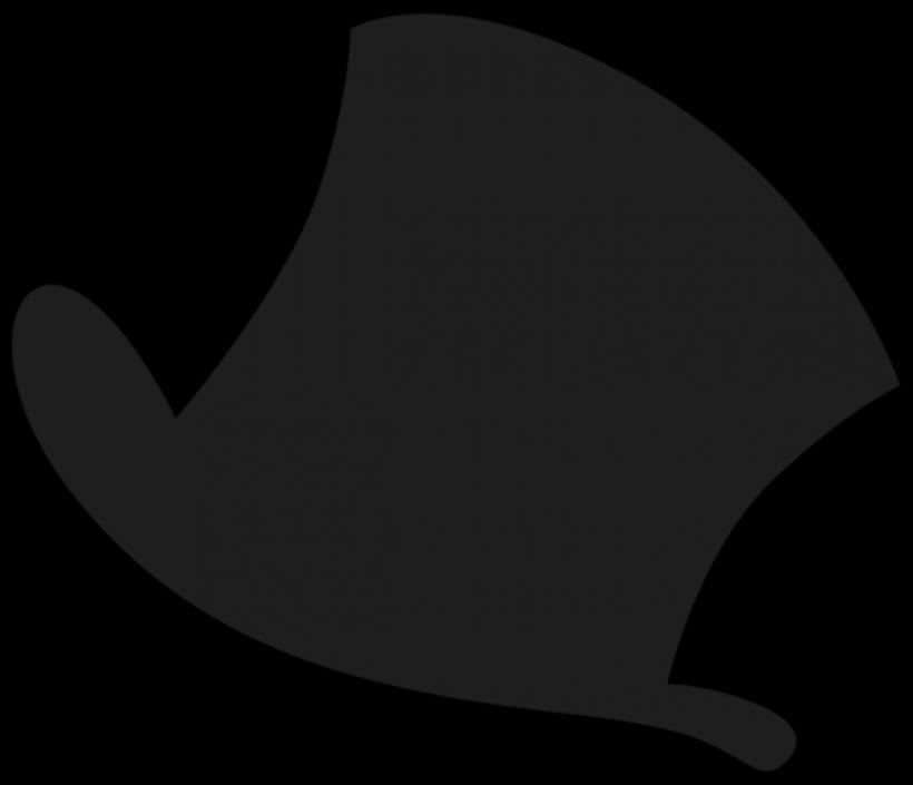 Top Hat clipart grey Clip top art clip image