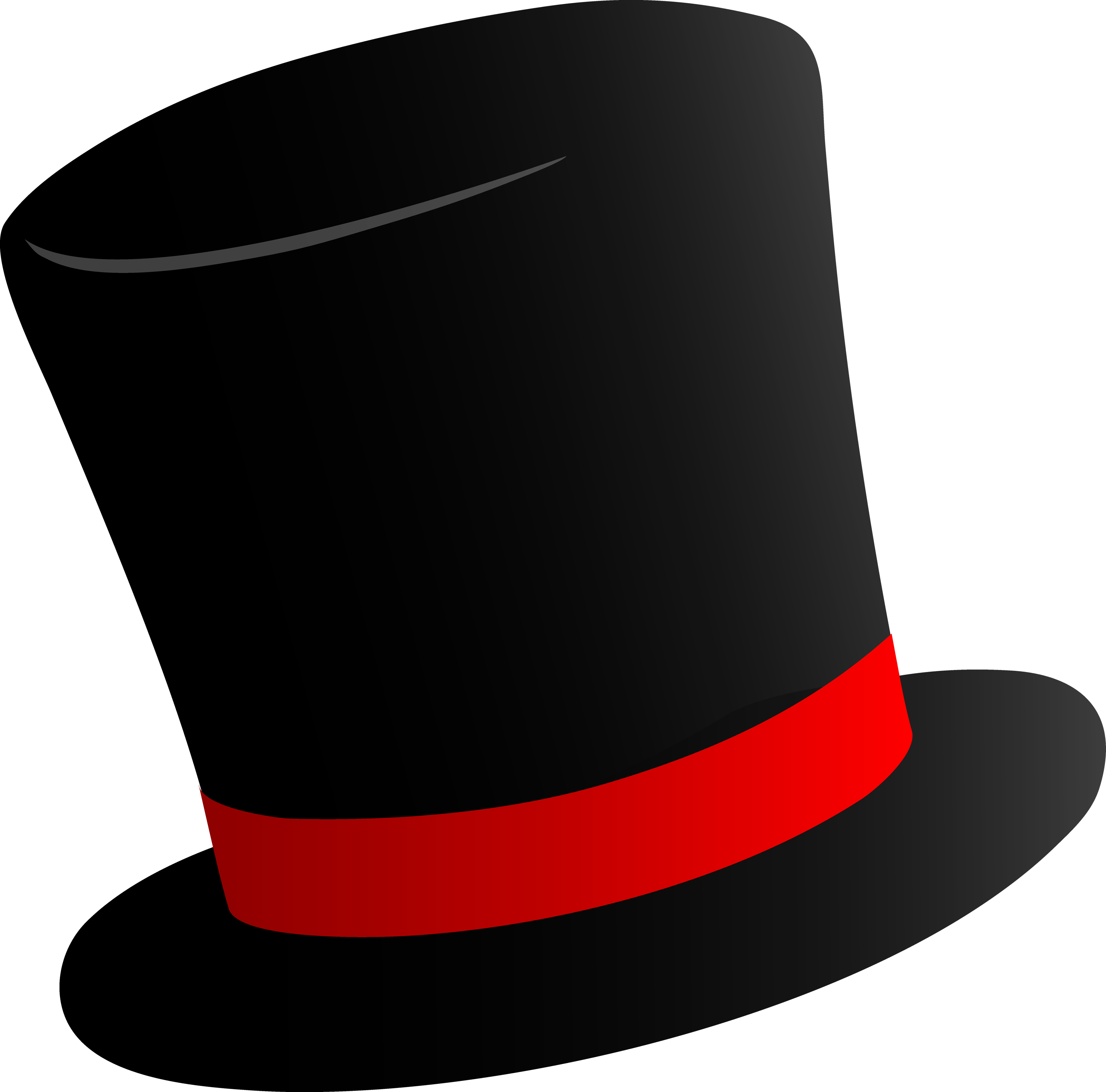 Top Hat clipart grey PNG Hat images PNG Cylinder