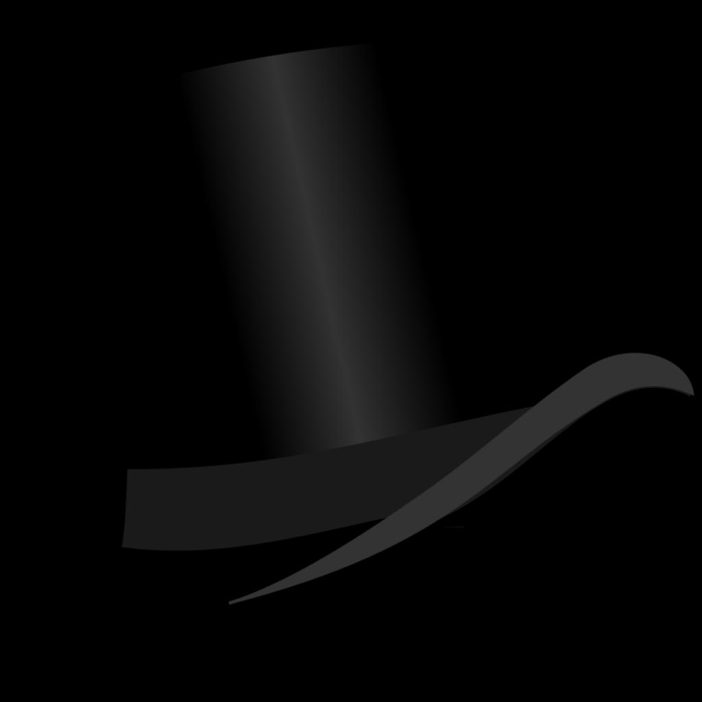 Top Hat clipart grey Top bestTop art clipart 10