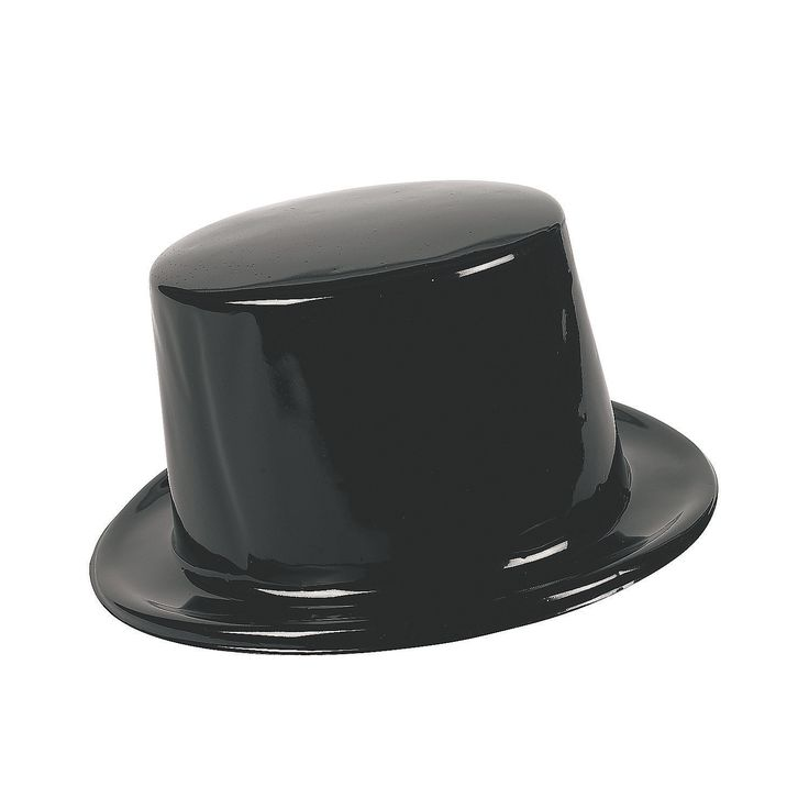 Top Hat clipart grey Decorate top for can ideas