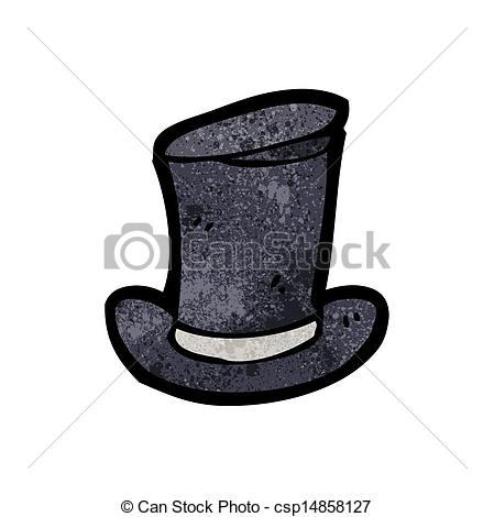 Top Hat clipart illustration Search old top Vector cartoon