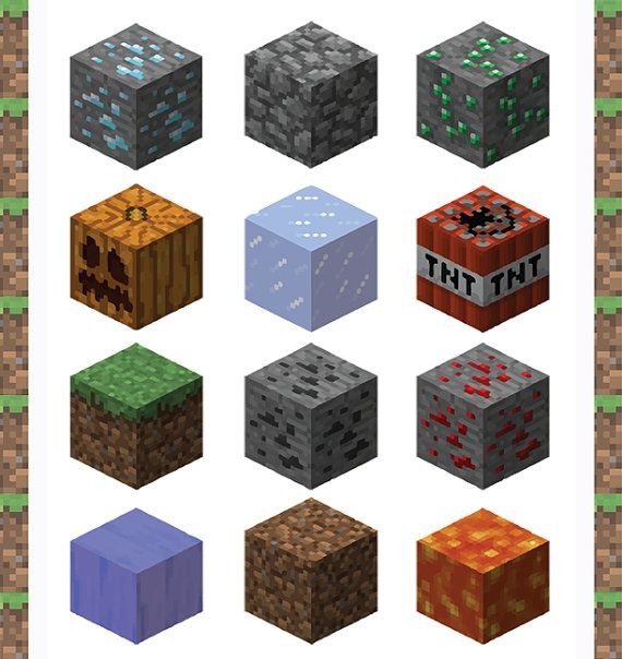 Minecraft clipart minecraft steve 17 $4 by Clip A
