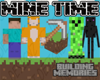 Minecraft clipart raw #1
