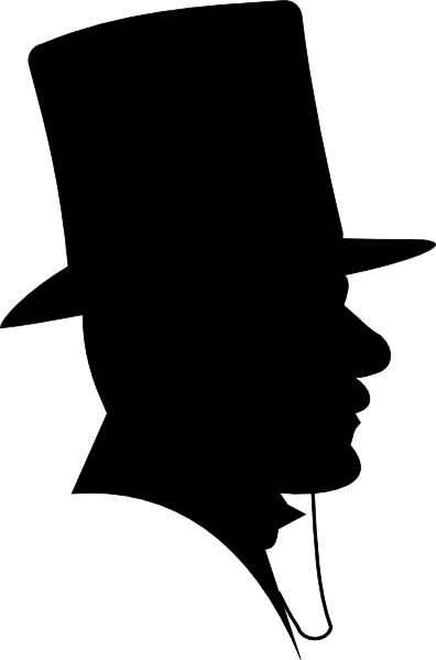 Top Hat clipart old fashion Clip 144 a on hat