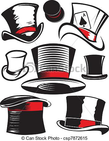 Top Hat clipart outline Hat top Collection Top hat