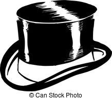 Top Hat clipart outline 188 Hat clip 829