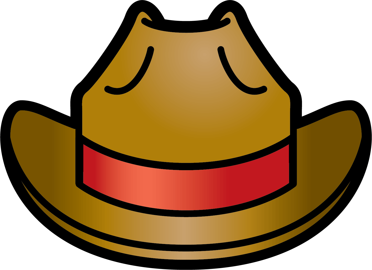 Western clipart indiana jones hat Art Free Cliparts pictures