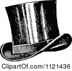 Top Hat clipart retro Hat Top Hat And White