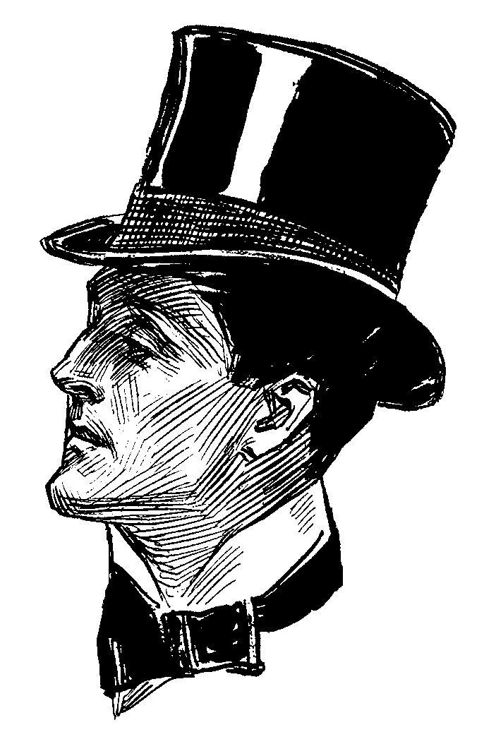 Top Hat clipart steampunk Top gentalmen Shabby Chic hat