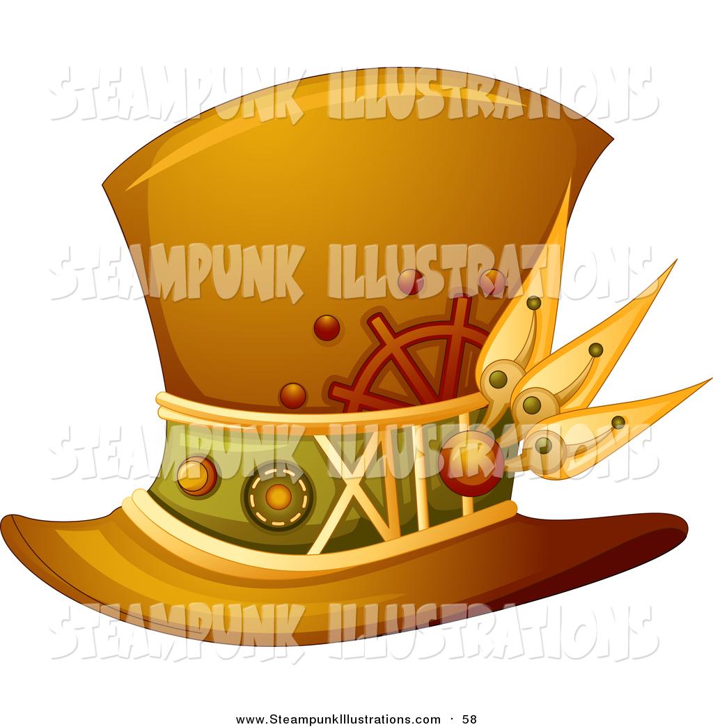 Top Hat clipart steampunk Illustration Steampunk  of Steampunk