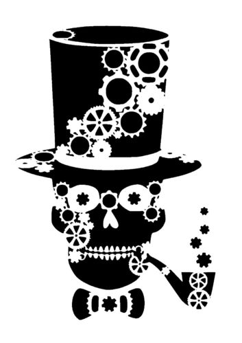 Top Hat clipart steampunk Skull steampunk this  in