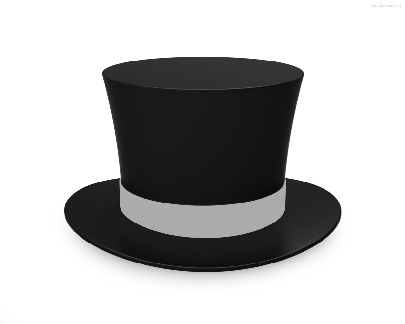 Top Hat clipart transparent Cartoon Top Hat Best Outline