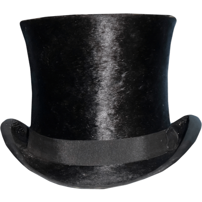Top Hat clipart transparent  transparent PNG Hat StickPNG