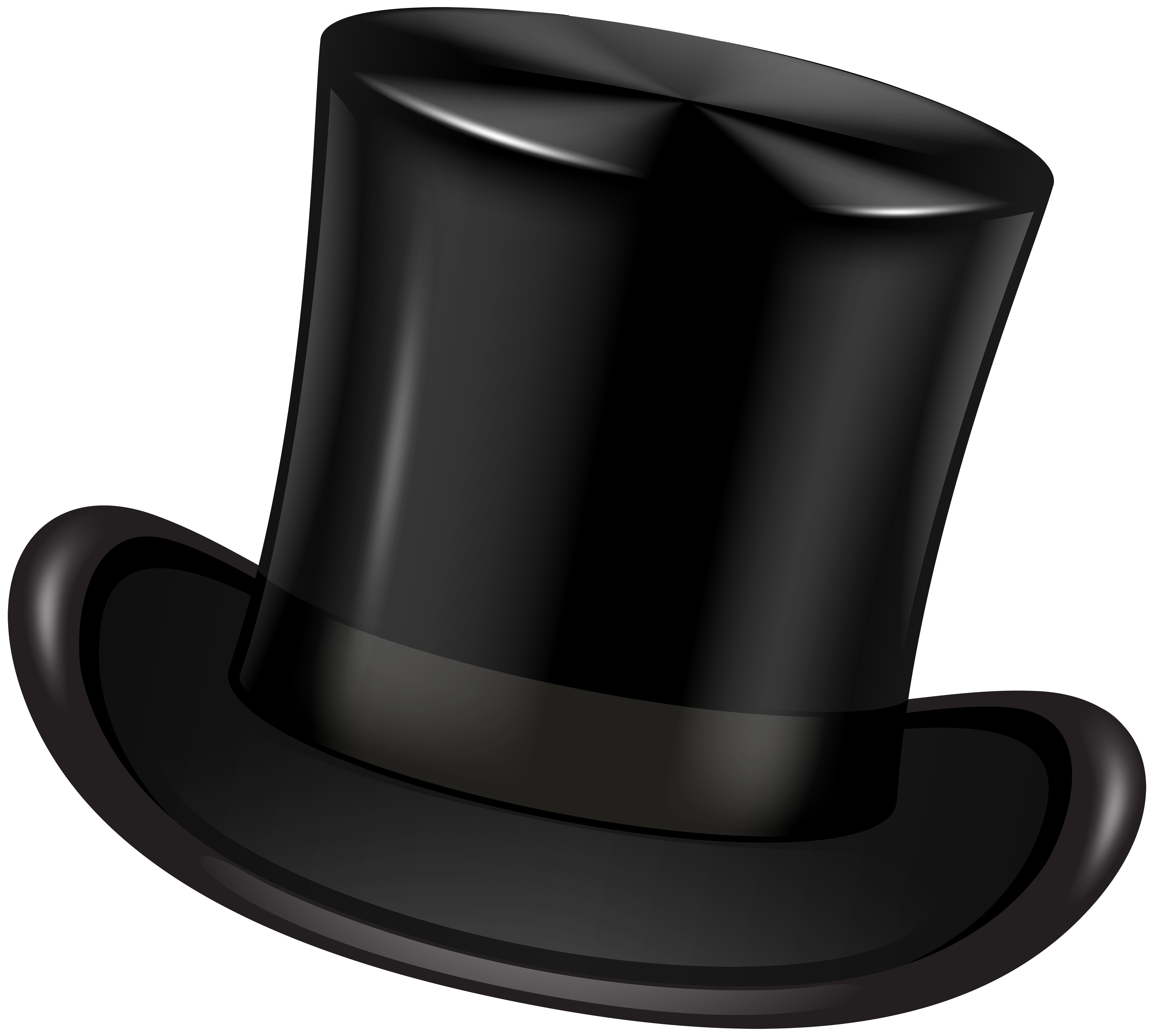 Top Hat clipart transparent View Black  Gallery Top