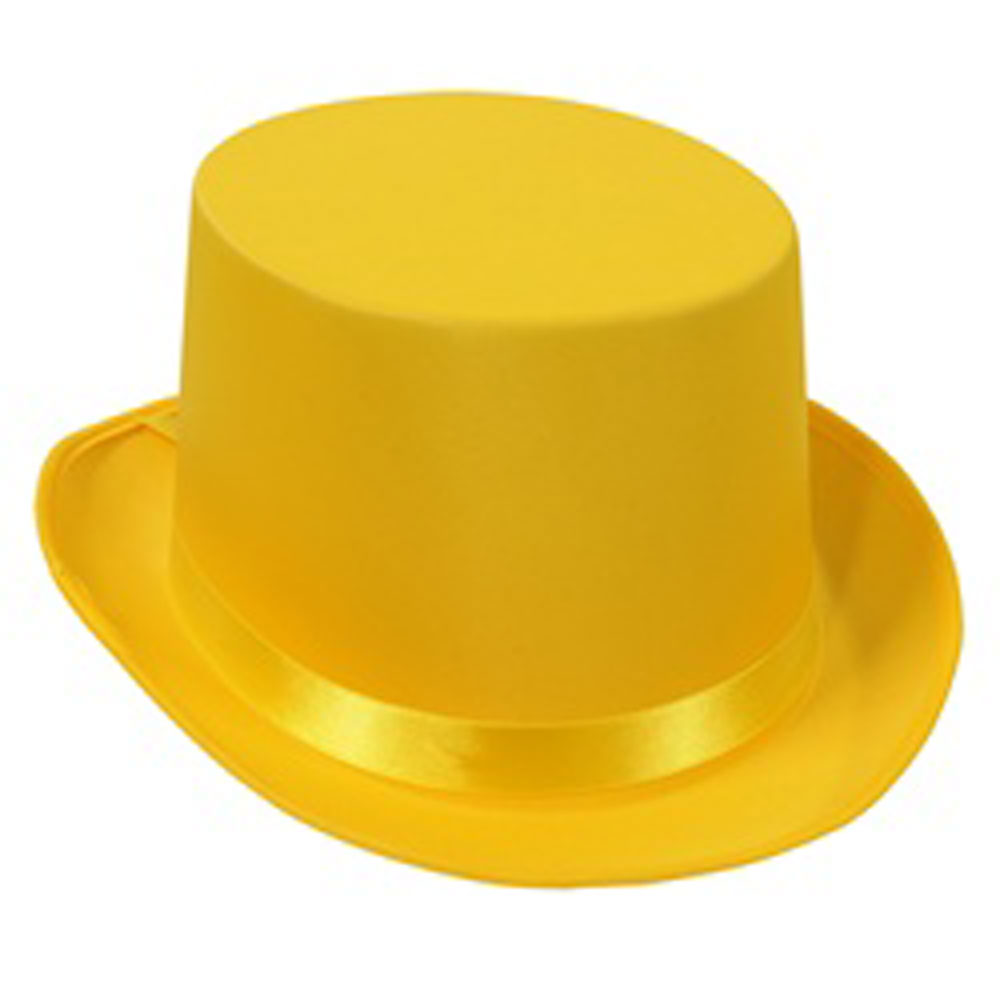 Top Hat clipart yellow Hats