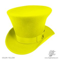 Top Hat clipart yellow (*Made Hat Top Order*) Hat