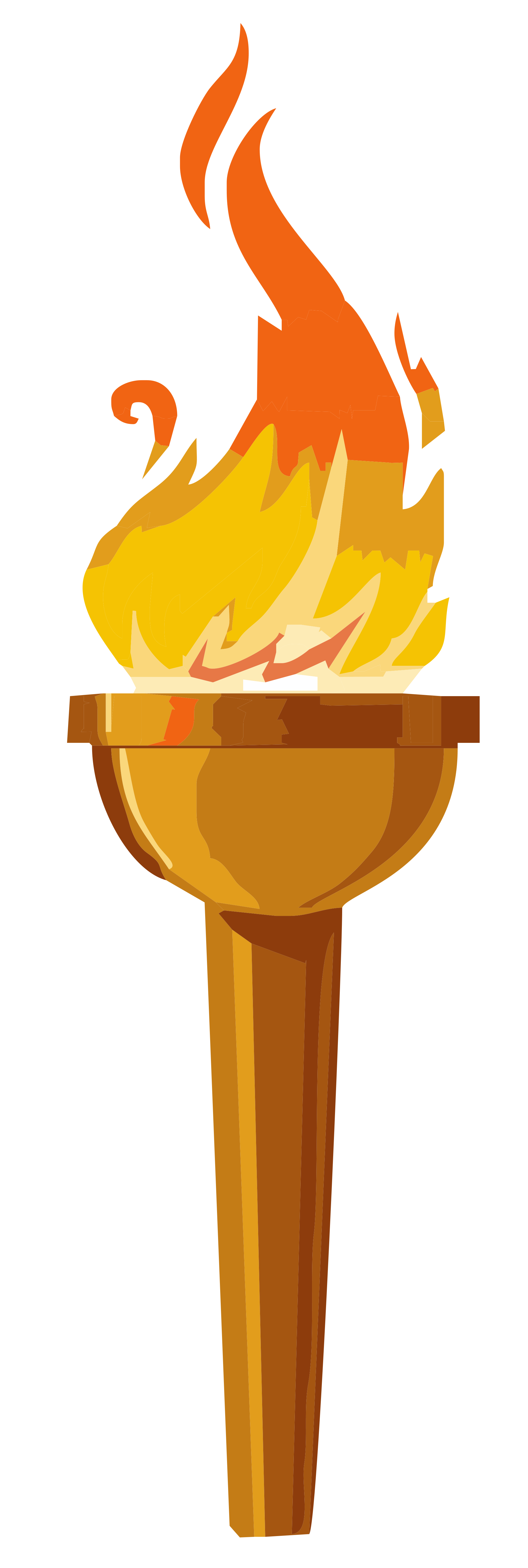 Torch clipart torch flame Pie Torch Torch Vectors &