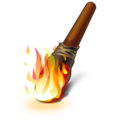 Wood clipart torch Icon images ClipArt Image clipart