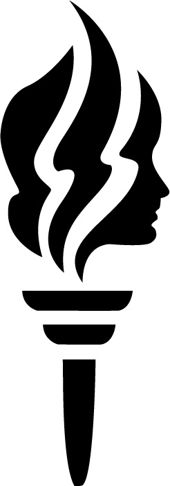 Torch clipart black and white Clipart Young cliparts Women Torch