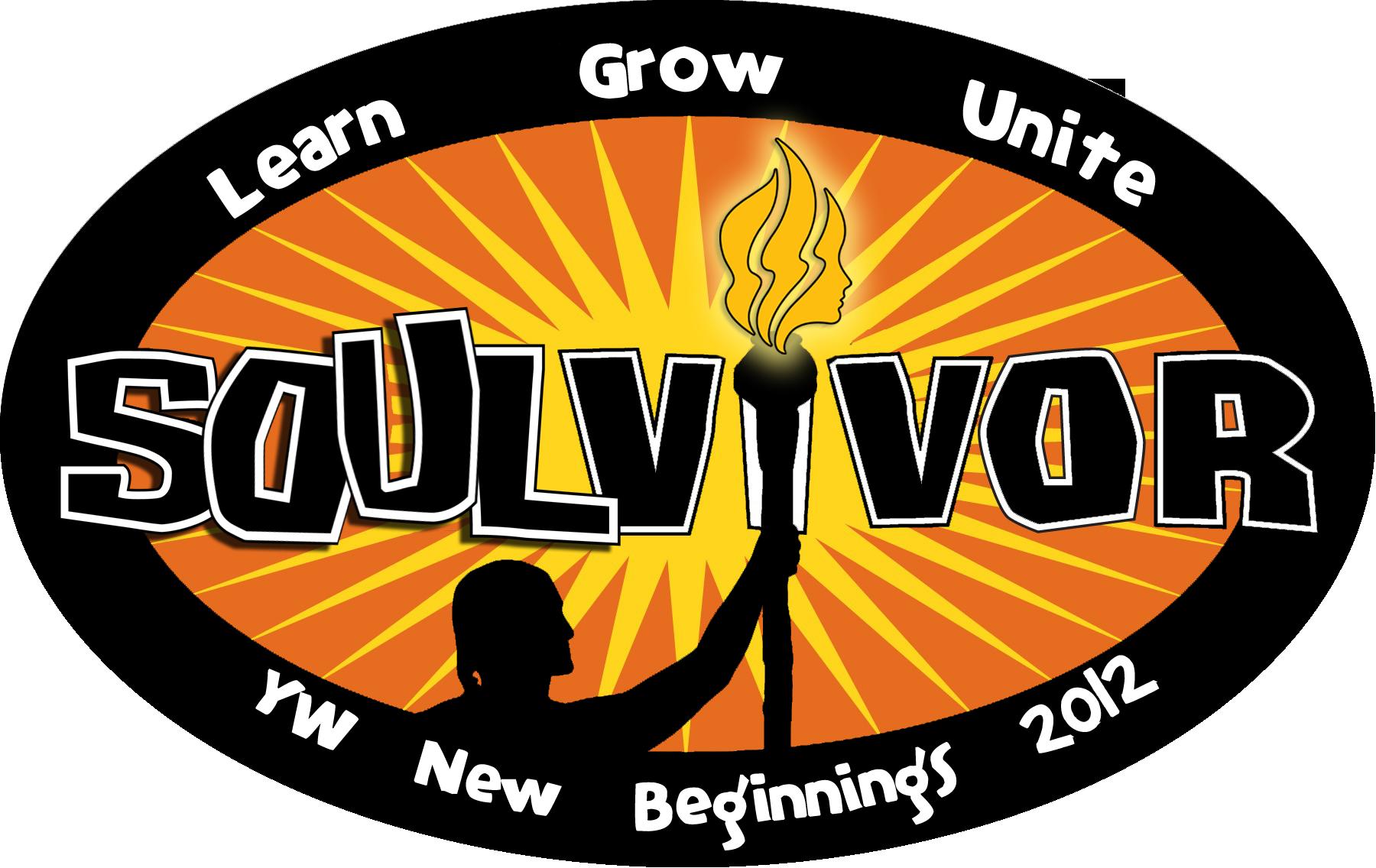 Torch clipart survivor Share New Beginnings logo1 Mormon