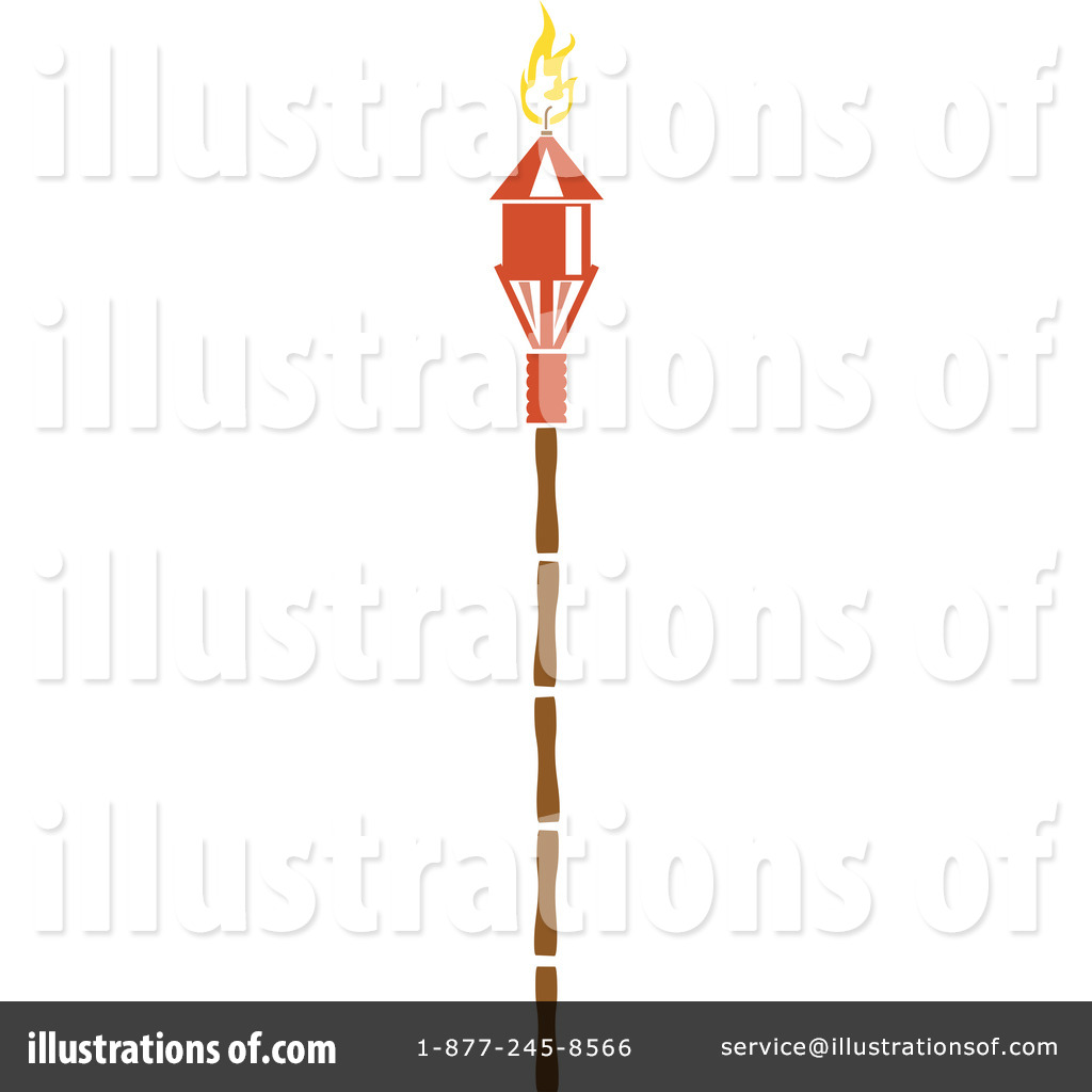 Torch clipart tiki torch Tiki Free by by Royalty