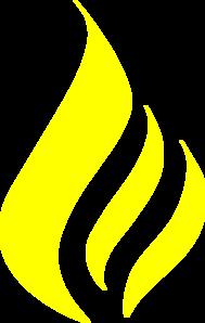 Torch clipart yellow Three Flames vector Flames Art