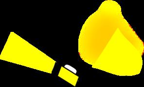 Torch clipart yellow Clip Art royalty Clker vector
