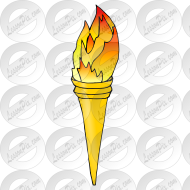 Torch clipart yellow Picture Torch Therapy Great Use