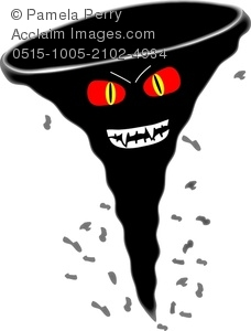 Tornado clipart cute Of With Image Art an