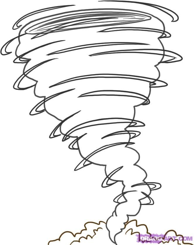 Drawn tornado doodle Step on to 20+ 4