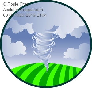 Disaster clipart Swirling Tornado Image Clipart Over