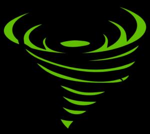 Tornado clipart silhouette Tornado clipart clipart WikiClipArt Tornado