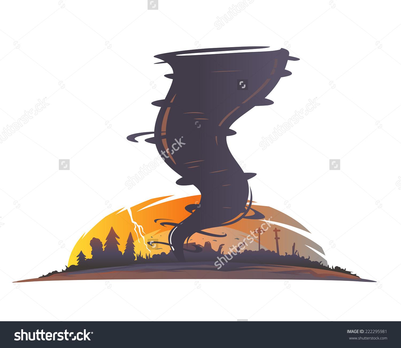 Tornado clipart silhouette Image hallway Tornado Save Spiral