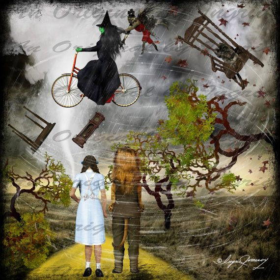 Wizard Of Oz clipart twister (Suitable 81 images on Collage