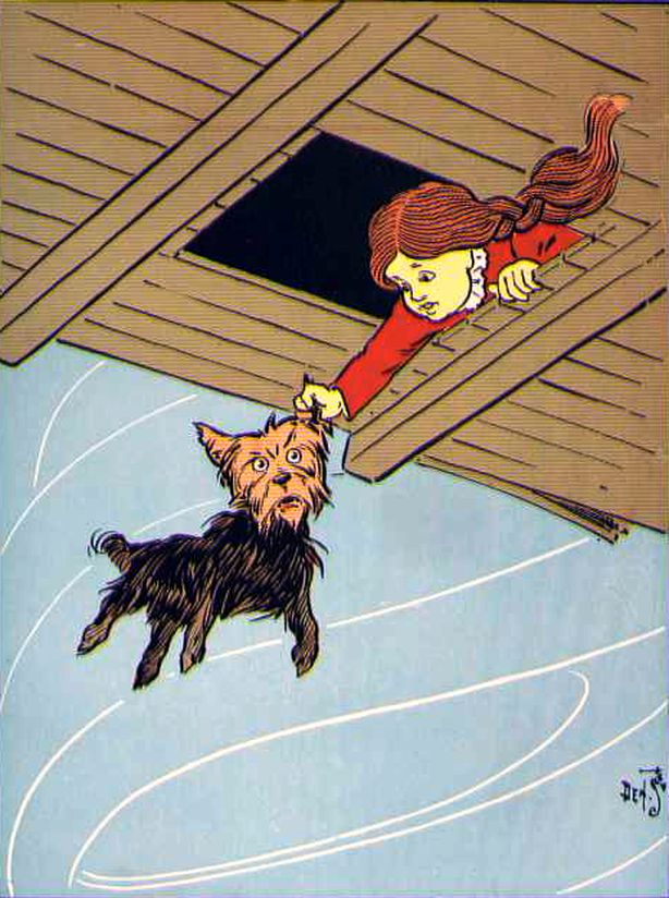 Wizard Of Oz clipart vintage art #12