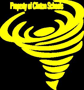 Yellow clipart tornado Vector  Art Clker online