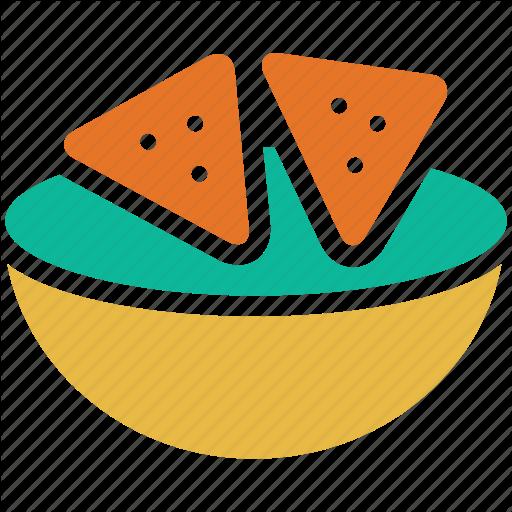Tortilla clipart chip guacamole Icon chips tortilla totopos corn