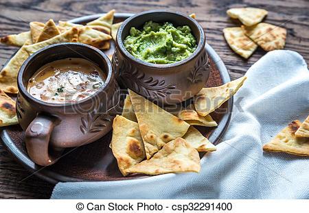 Tortilla clipart chip guacamole Tortilla queso Photography with Bowls