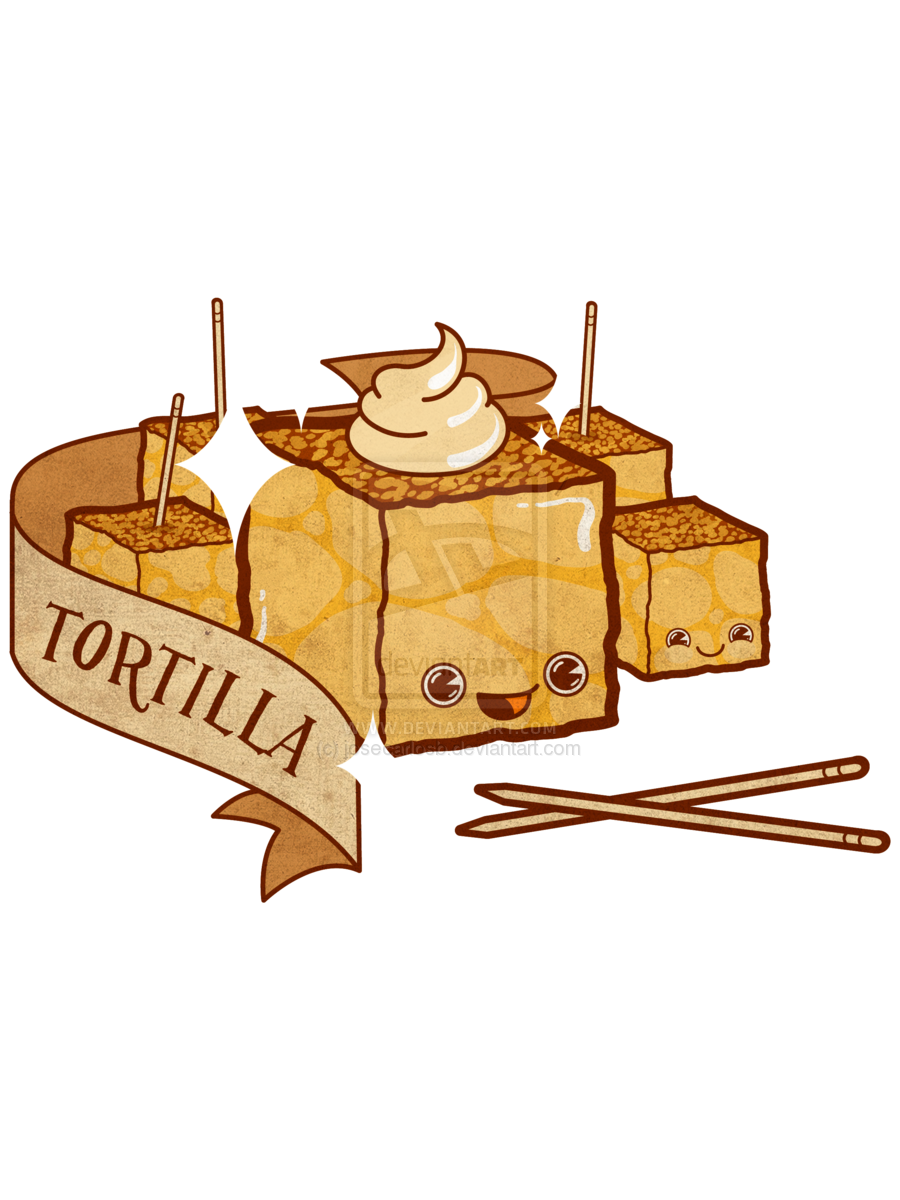 Tortilla clipart cute On de Tortilla patatas ~josecarlosb
